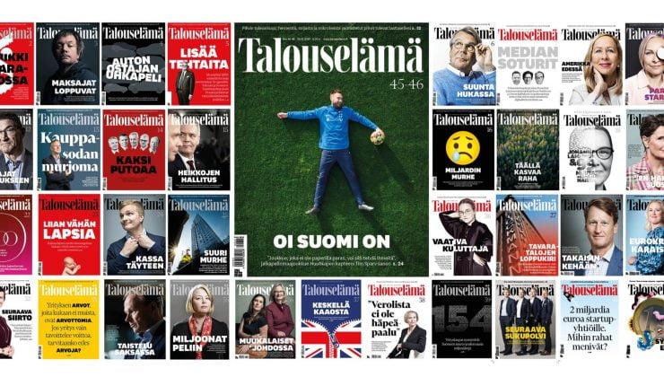 Finlandiya'da tirajı 100 binin üzerinde olan dergi sayısı 57