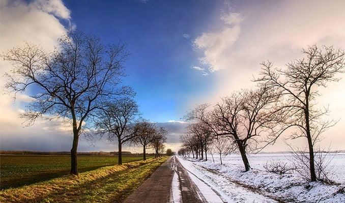 Finlandiya'ya  kar  geri döndü