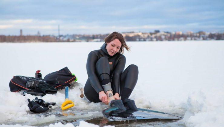 Fin sporcudan yeni dünya rekoru