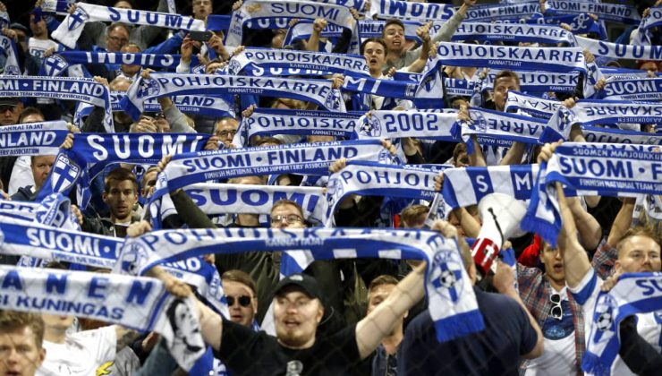 Finlandiya Milli Futbol Takımı İrlanda'yı yendi