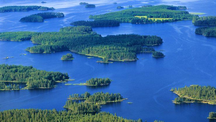 Gelecek hafta Finlandiya'daki göllerde su sıcaklığı 16 dereceye kadar çıkacak