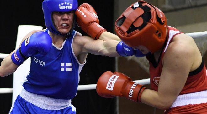 Fin boksör Mira Potkonen'in rakibi Esra Yıldız oldu