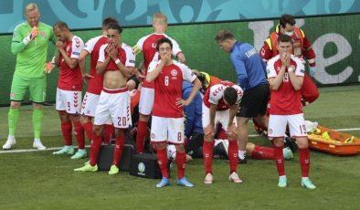 SON DAKİKA! Danimarka-Finlandiya maçı ertelendi