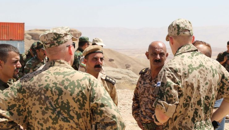 Irak'taki Fin Askerleri Dönüş Hazırlıklarına Başlıyor