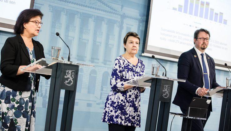 Finlandiya'da koronavirüs yayılma hızı düşüyor