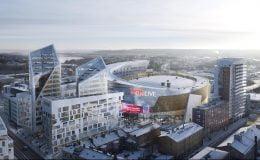 Tampere'ye Yapılacak Yeni Buz Hokeyi Stadı Projesi Tanıtıldı