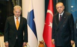 Niinistö ile Erdoğan New York'ta bir araya geldi
