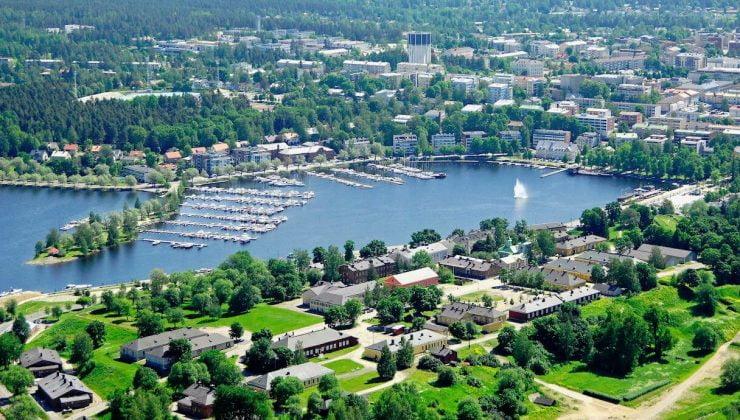 Lappeenranta Avrupa'nın en yeşil iki şehrinden birisi seçildi