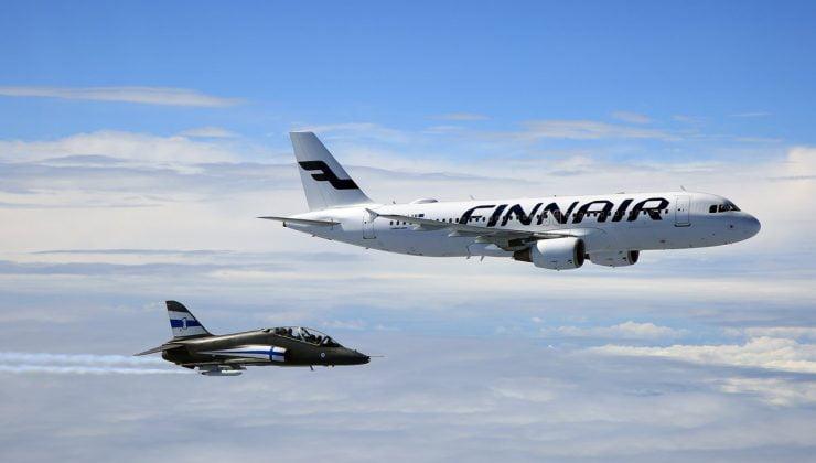 Finnair uçağında bomba paniği