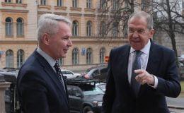 Finlandiya Rusya Dışişleri Bakanları görüşmesi öncesi gerginlik