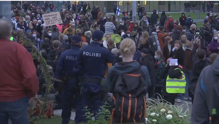 Çevreci protestolarda 141 kişi göz altına alındı