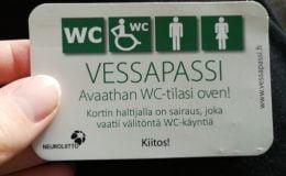 Tuvalet Geçiş Kartı (Vessapassi)