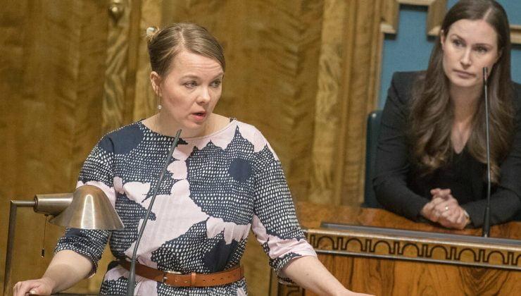 SON DAKİKA! 50 bin euroluk harcama Maliye Bakanı Katri Kulmuni'yi istifa ettirdi