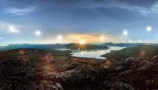 """Utsjoki'de Beyaz Geceler """"Yötön Yö"""" Yaşanmaya Başladı."""