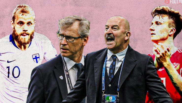 Euro 2020'de Finlandiya Rusya ile oynadı