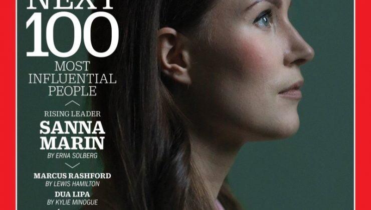 Sanna Marin TIME Dergisine kapak oldu