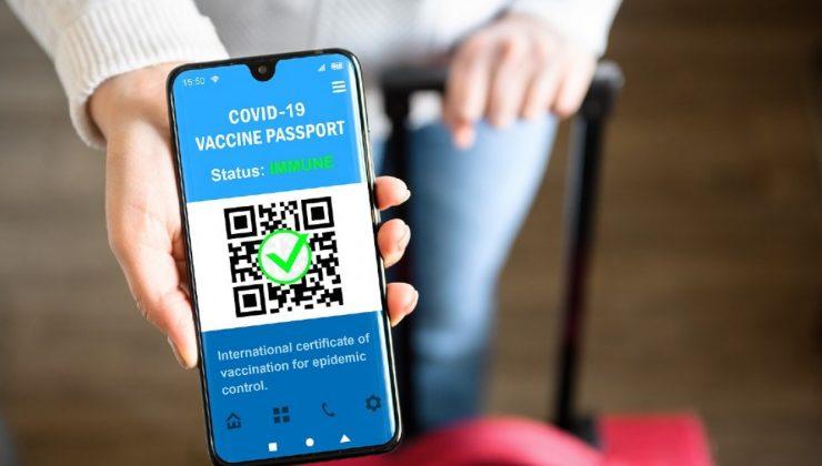 Koronavirüs aşı pasaportu hazır