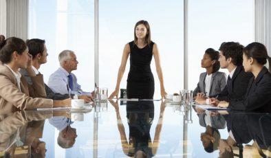 Büyük Şirketlerin Üst Düzey Yöneticilerinin Çoğu Erkek