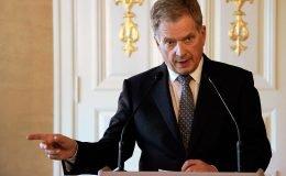 Cumhurbaşkanı Niinistö, İsveç sınırının açılmaması İsveç'e karşı bir eylem değil
