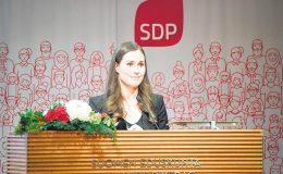 Sanna Marin'in SDP'si Anketlerde Gerçek Finleri Geçti ve 1. Sıraya Yerleşti