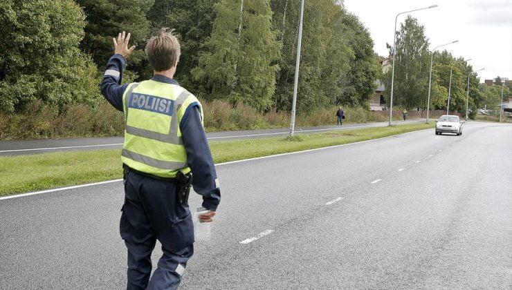 Finlandiya'da uyuşturuculu sürücü oranı sarhoş sürücü sayısını geçti