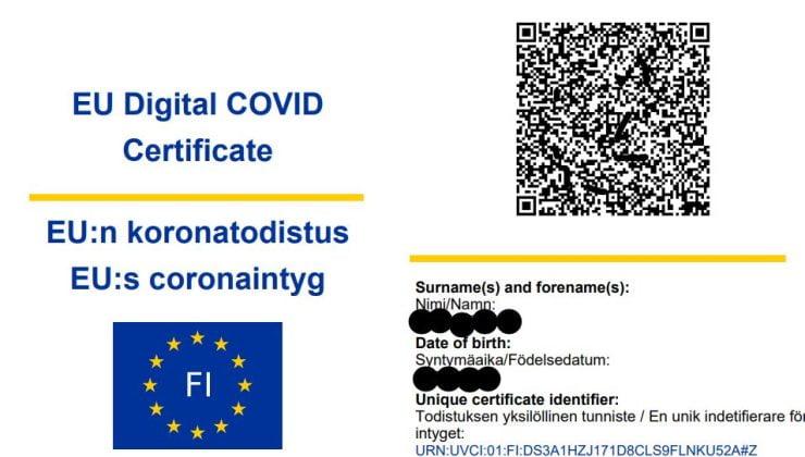 Türkiye AB'nin Dijital Aşı Sertifikası Sistemi'ne dahil oldu