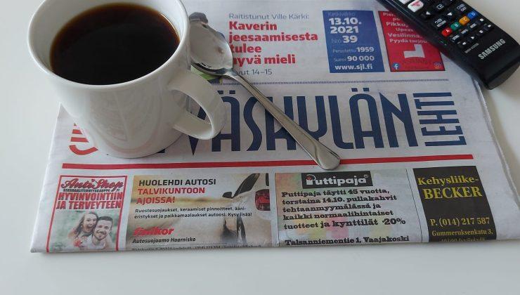 Finlerin yüzde kaçı günlük gazete okuyor?